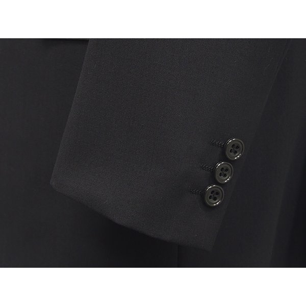 春夏物 2パンツスーツ ベーシック2釦スーツ 黒/無地 [A体][AB体] RG211100A dxksm466 07