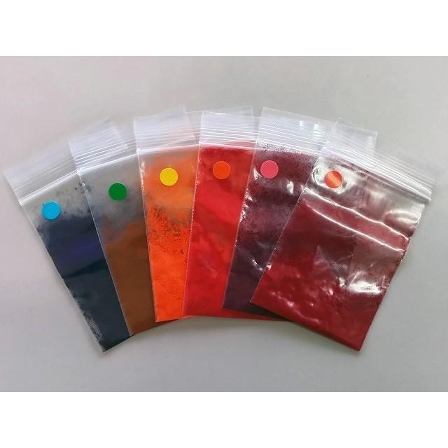 切り花染色剤 フラワーパレット 1回分×6色セット|dyestuff-chameleon|06