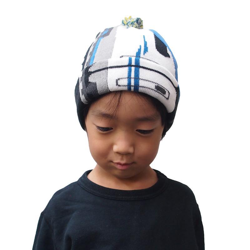 帽子 マフラー キッズ 子供用 鉄マフ帽 新幹線シリーズ [M便 1/1]|dyn|15