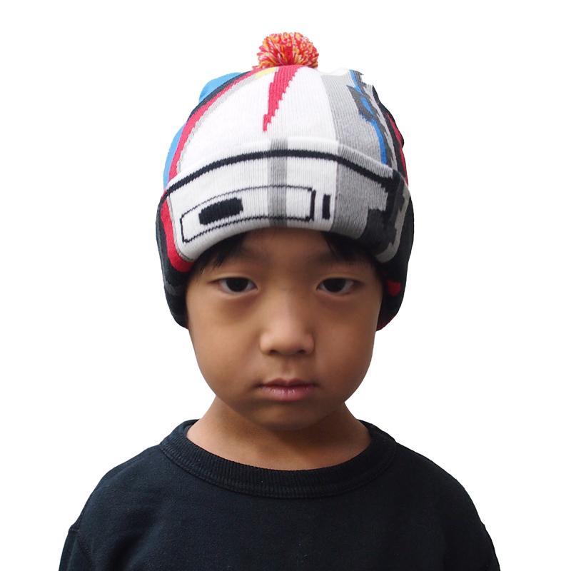帽子 マフラー キッズ 子供用 鉄マフ帽 新幹線シリーズ [M便 1/1]|dyn|06