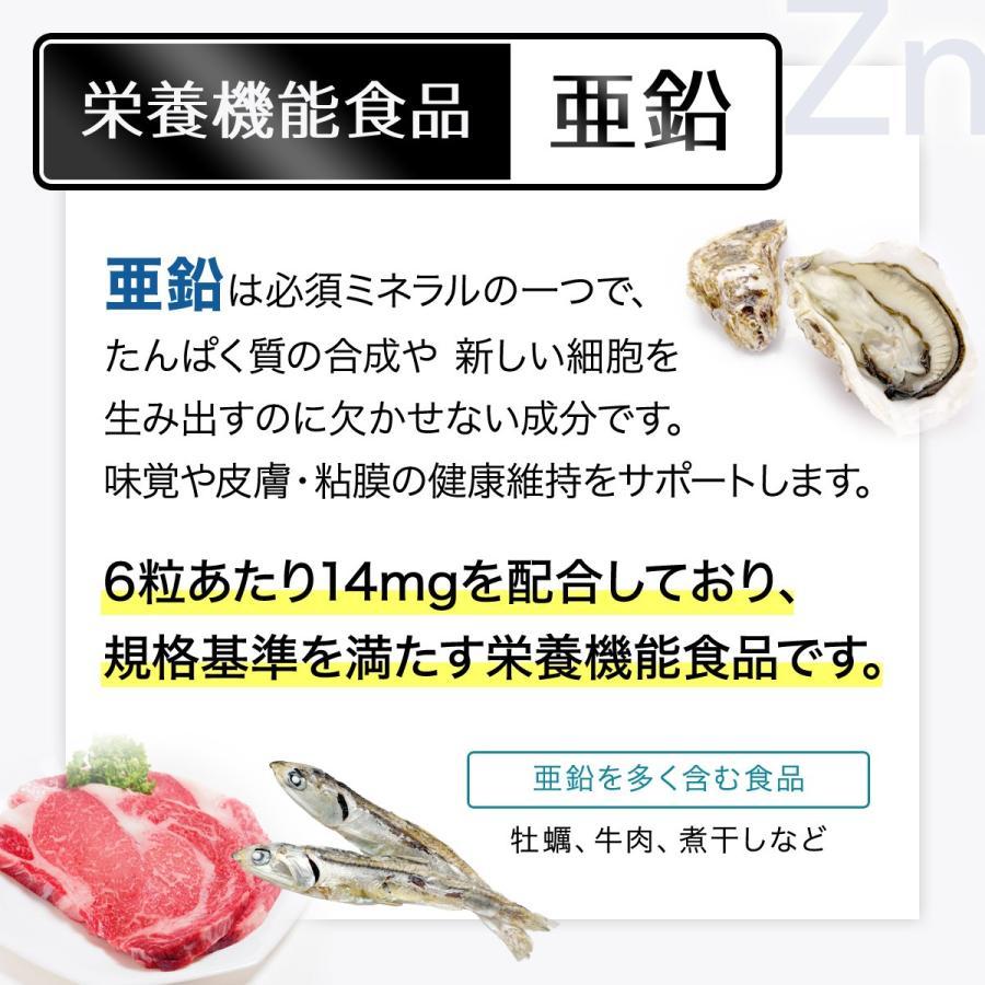 食品 亜鉛 多い