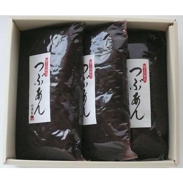 日本最大級の品揃え こだわりのあんこセット 上粒あん 1kg×3 売買