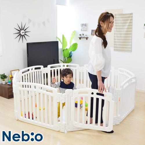 折りたたみサークル クエット Quet ベビーサークル ベビー サークル 樹脂サークル Nebio 8枚パネル 日本全国 送料無料 人気ブランド多数対象 ロック付 ネビオ 折り畳み式 赤ちゃん