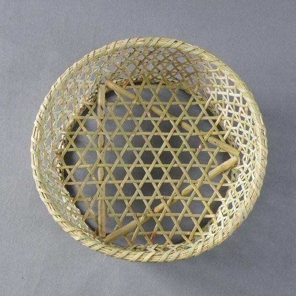 椀籠 円形(大) 根曲がり竹 生活の道具|e-basket|02