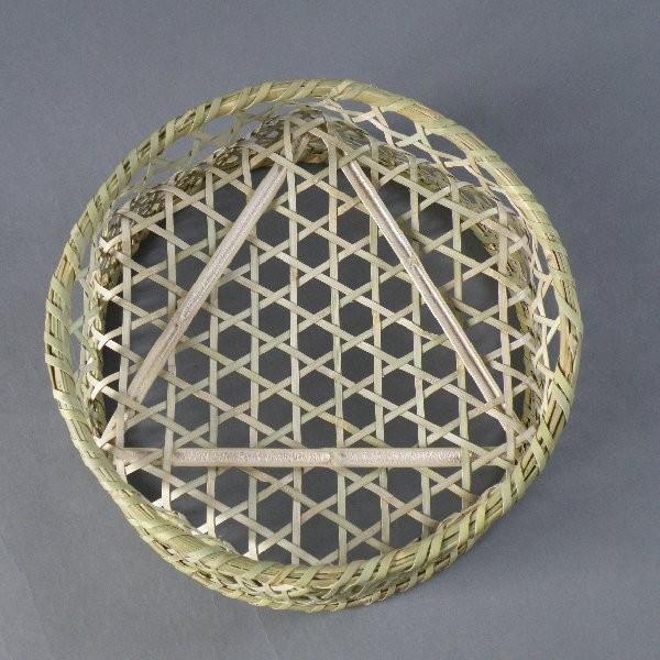 椀籠 円形(大) 根曲がり竹 生活の道具|e-basket|04