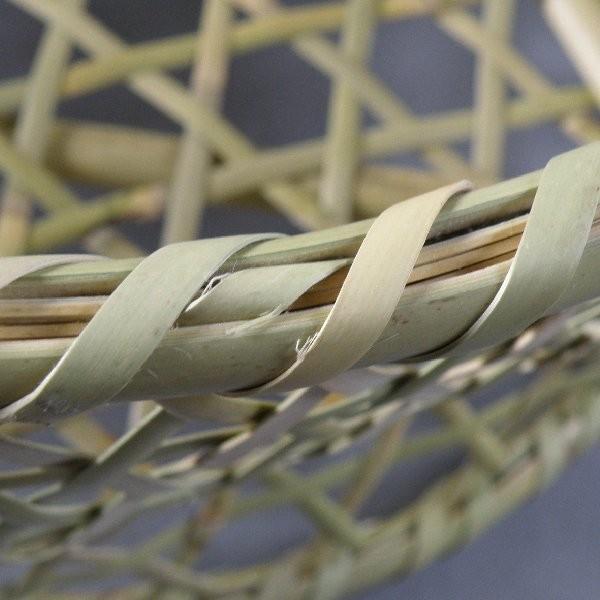 椀籠 円形(大) 根曲がり竹 生活の道具|e-basket|05