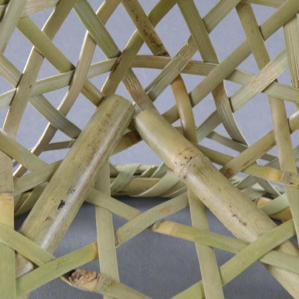 椀籠 円形(大) 根曲がり竹 生活の道具|e-basket|06