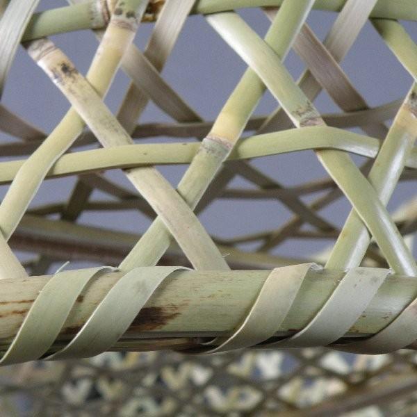 椀籠 円形(大) 根曲がり竹 生活の道具|e-basket|07