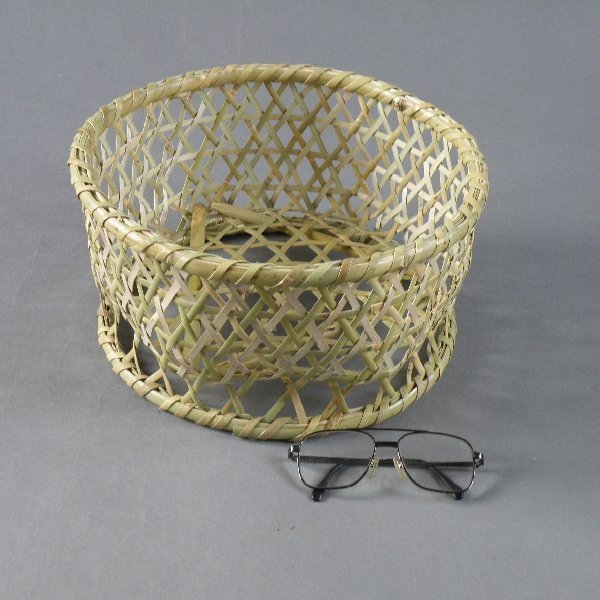椀籠 円形(小) 根曲がり竹 生活の道具 e-basket