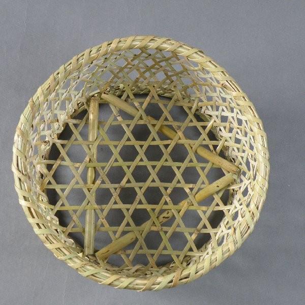 椀籠 円形(小) 根曲がり竹 生活の道具 e-basket 02
