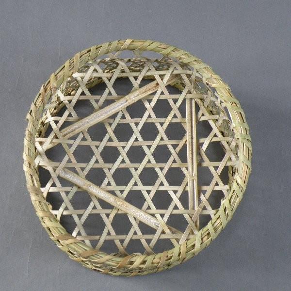 椀籠 円形(小) 根曲がり竹 生活の道具 e-basket 03