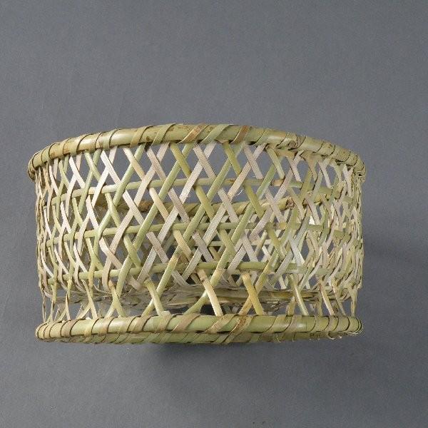 椀籠 円形(小) 根曲がり竹 生活の道具 e-basket 04