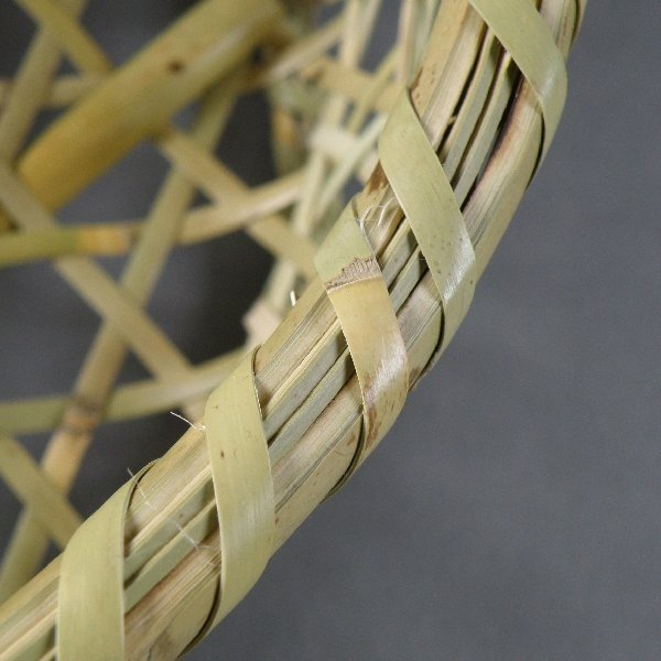 椀籠 円形(小) 根曲がり竹 生活の道具 e-basket 05
