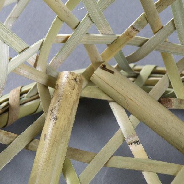 椀籠 円形(小) 根曲がり竹 生活の道具 e-basket 06
