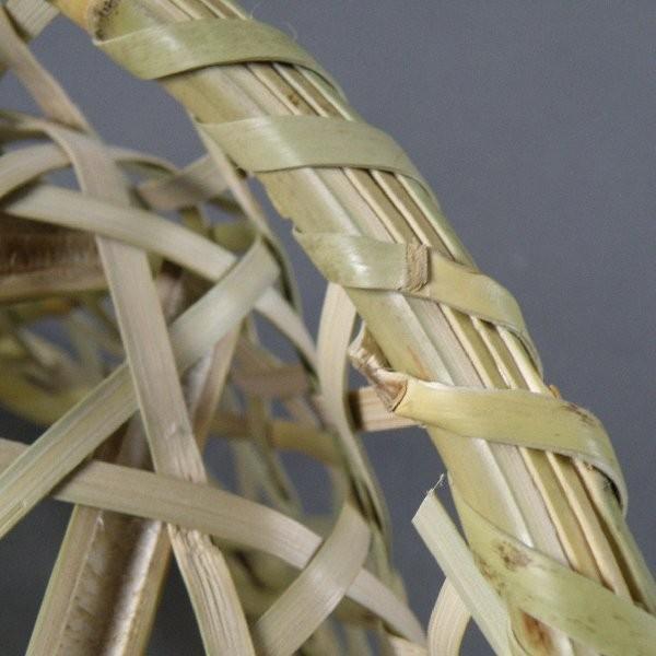 椀籠 円形(小) 根曲がり竹 生活の道具 e-basket 07