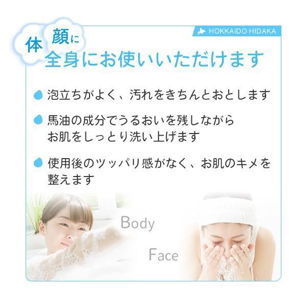 日高純馬油  手作り透明石けん 10箱セット(100g 2個入×10箱) e-bayu-com-hidaka 03