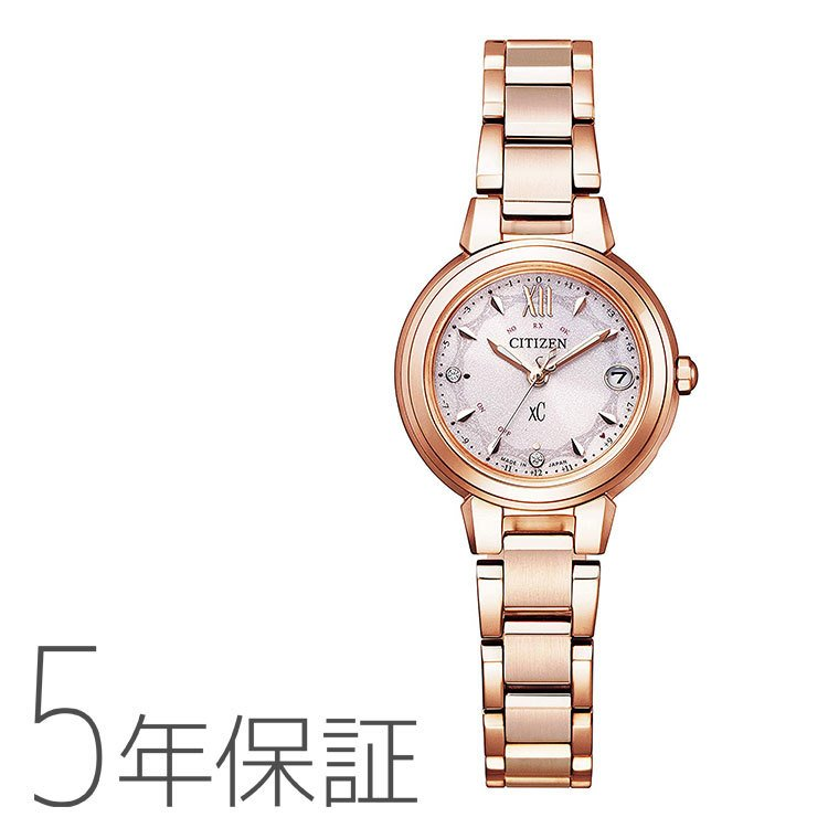 シチズン CITIZEN クロスシー xC エコ·ドライブ 電波時計 basic collection ハッピーフライト 限定モデル 腕時計 ES9432-59W