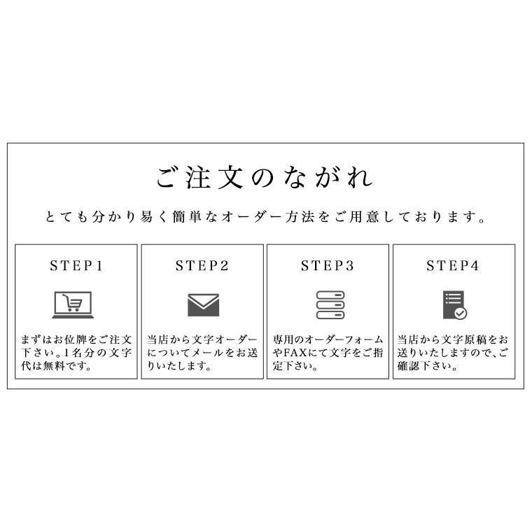 位牌(日本製)・くくり(ウォルナット) 日本製(送料無料)(文字代込)(品質保証)|e-butsudanya|16