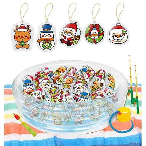 クリスマスパンチボール釣りつりイベント大会 50個