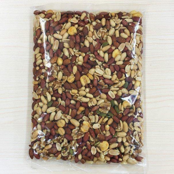 ミックスナッツ 6種  900g 有塩 素焼き ナッツ 効果 アーモンド クルミ ピーナッツ 落花生 かぼちゃの種 ダイエット 業務用  安い 1kg 近い|e-collect|16