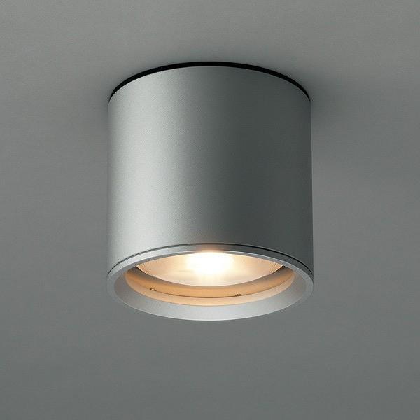 AD-2602-L 山田照明 軒下用シーリングライト ダークシルバー LED