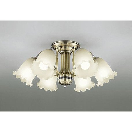 OC006927LC1 オーデリック シャンデリア LED 電球色 調光 調光 〜8畳 ODELIC
