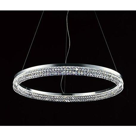 シャンデリア LED(電球色) 〜8畳 オーデリック OC257038 +DESIGN CRYSTALS FROM SWAROVSKI