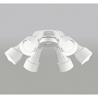 シーリングファン専用シャンデリア シーリングファン専用シャンデリア LED(昼白色) 〜8畳 オーデリック WF277NC