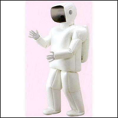 着ぐるみ きぐるみ ロボット君 白 アソボー [大型商品160cm以上]