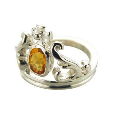 最新のデザイン EXHIBITIONIST(エキシビジョニスト)/TIARA RING 1 RING W 1 W STONE(ティアラリングw1ストーン), 緒方町:b28cd362 --- airmodconsu.dominiotemporario.com