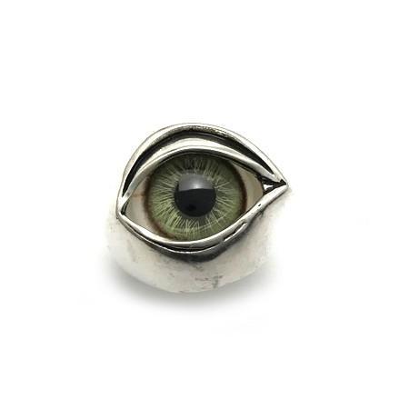 【本日特価】 NECROMANCE(ネクロマンス)/Glass green Eye Eye Ring green brown(グラスアイリング グリーンブラウン), 文房具専門店あずまや:4ebe819e --- airmodconsu.dominiotemporario.com