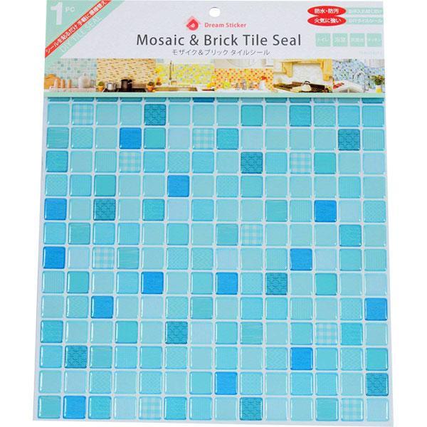 モザイクタイルシール BST-7 ×36個 小箱 ミントモロッカン Mint morrocan Dream Sticker