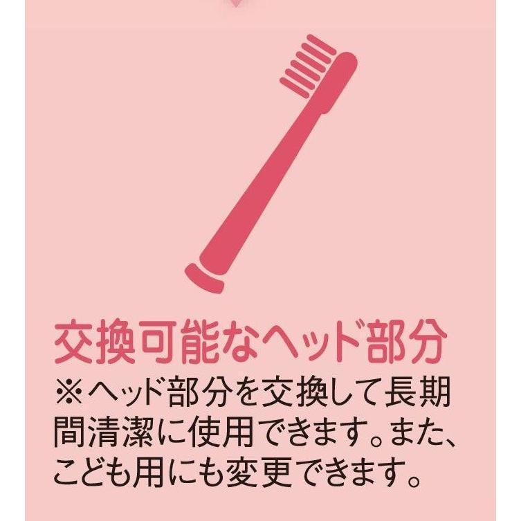 サンデンタル アオラ AORA こども用LED付電動歯ブラシ|e-dent|13