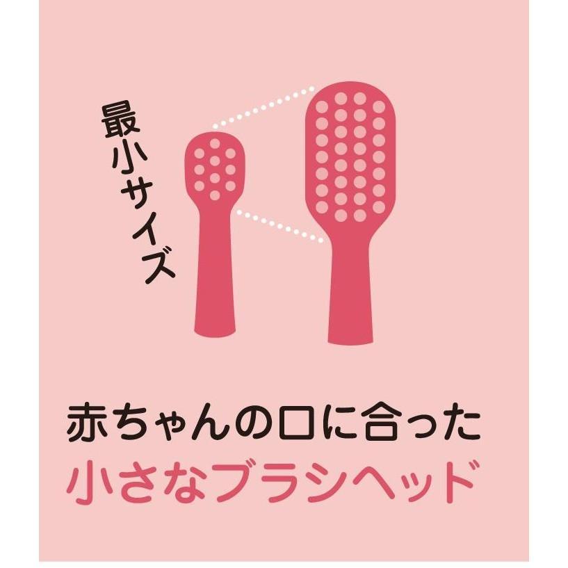 サンデンタル アオラ AORA こども用LED付電動歯ブラシ|e-dent|08