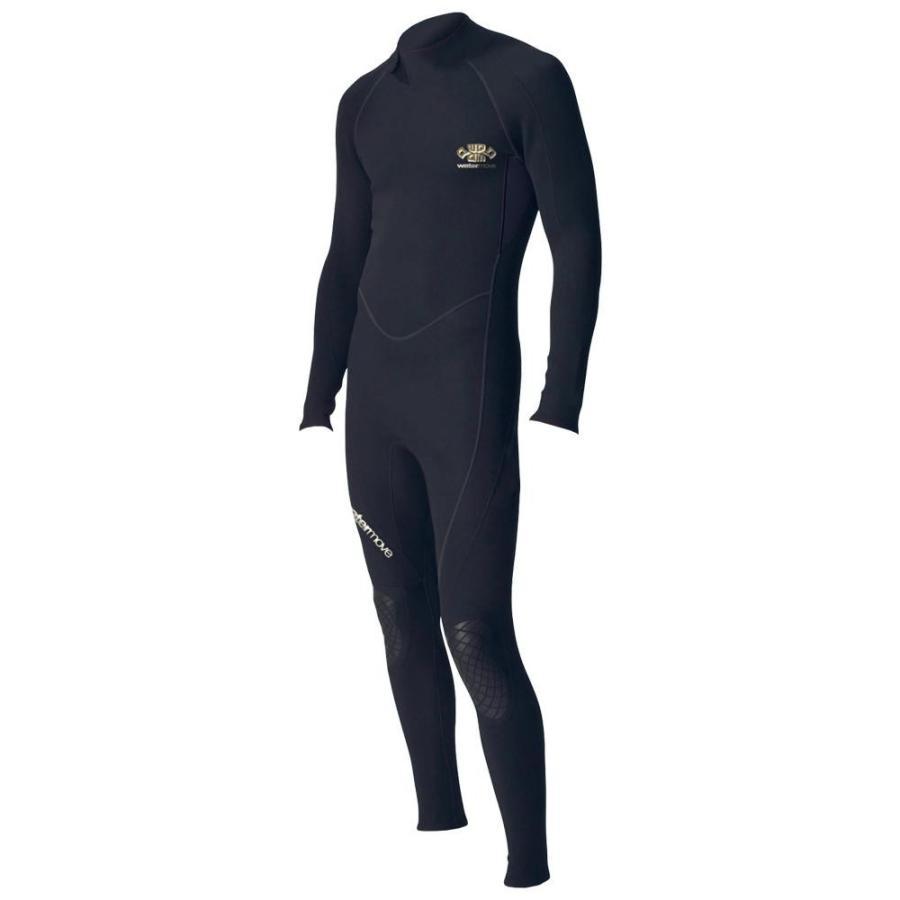 (★直送便)watermove ウォータームーブ スーパーライトスーツ メンズ ブラック L WSL38116