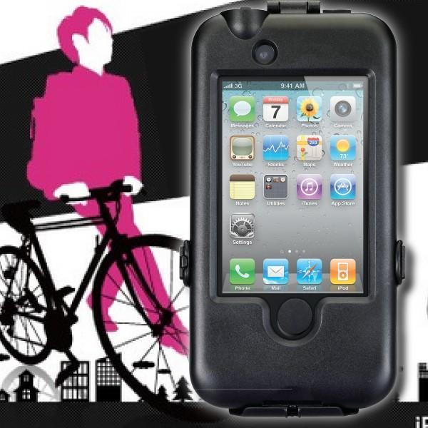 アウトレット プリンストン iPhone4/3GS/3G用 防滴自転車取り付けキット PIP-JTK2
