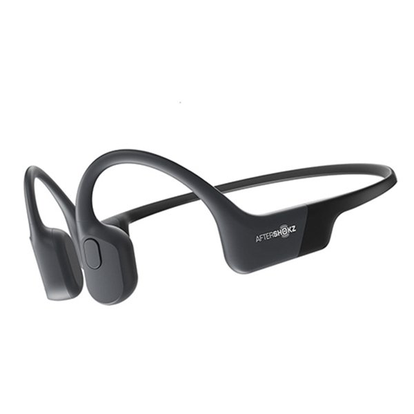 骨伝導 ヘッドセット AfterShokz 全品最安値に挑戦 Aeropex Play Cosmic ワイヤレス Black オンライン授業 Bluetooth AFT-EP-000019 年間定番