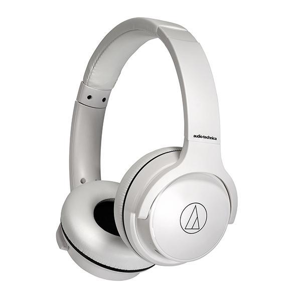 audio-technica ワイヤレスヘッドホン ATH-S220BT 返品交換不可 ホワイト 送料無料 新品 WH