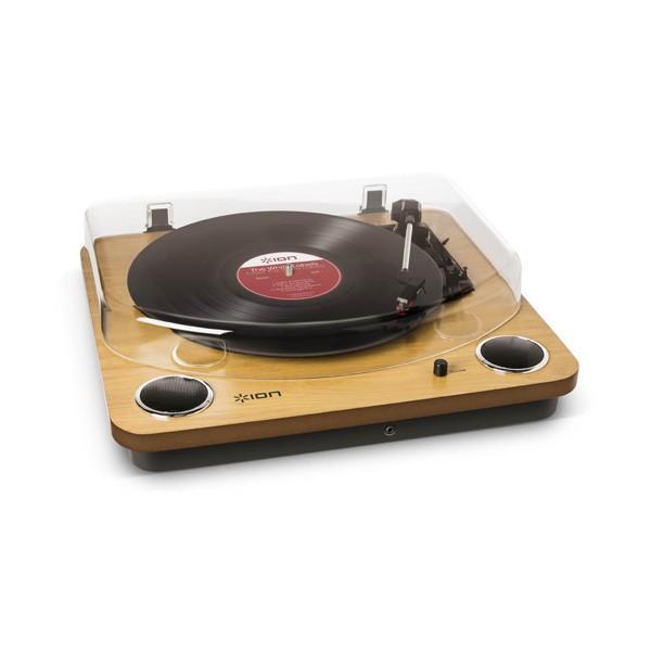 待望 ION MAX LP -Conversion Turntable with ターンテーブル USB端子 ステレオスピーカー搭載オールインワン Speakers- お買い得 Stereo