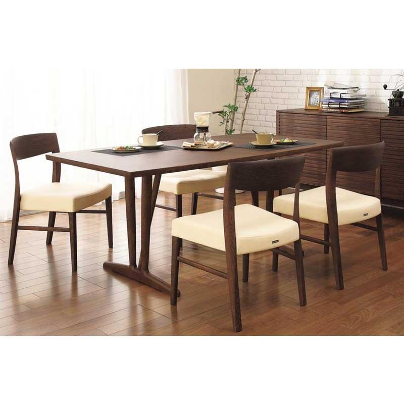 カリモク CT5315 CT5315 DU5831 食堂椅子 食卓5点セット ダイニングセット 合成皮革 ダイニングテーブル ナチュラルモダン 日本製家具 正規取扱店