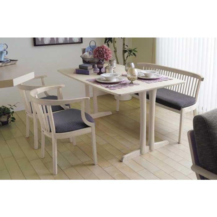カリモク CU2300 DU4840 食堂椅子 食卓テーブル ベンチ 食卓4点セット ダイニングセット 布張り カバーリング ナチュラルモダン 日本製家具 正規取扱店