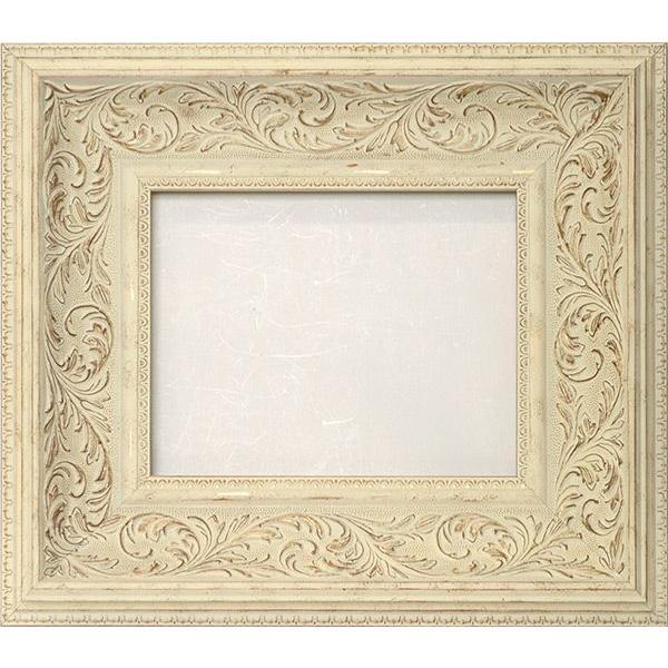 額縁 フレーム デッサン額縁 8202/ホワイト 大全紙サイズ(727×545mm) 前面ガラス仕様