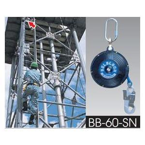 安全帯・ツヨロン ベルブロック (つり線取付) BB-60-SN