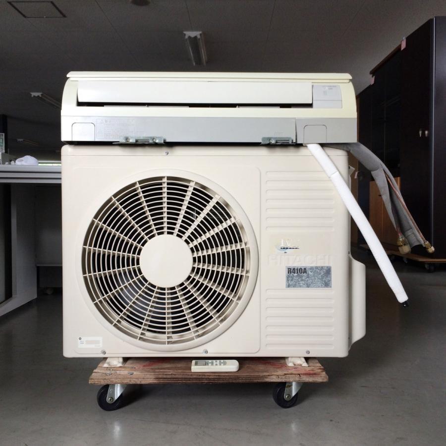 エアコン(壁掛け型)1.5馬力(12〜14畳用)日立 内機 RPK-NP40K1 外機 RAS-NP40HVR 中古