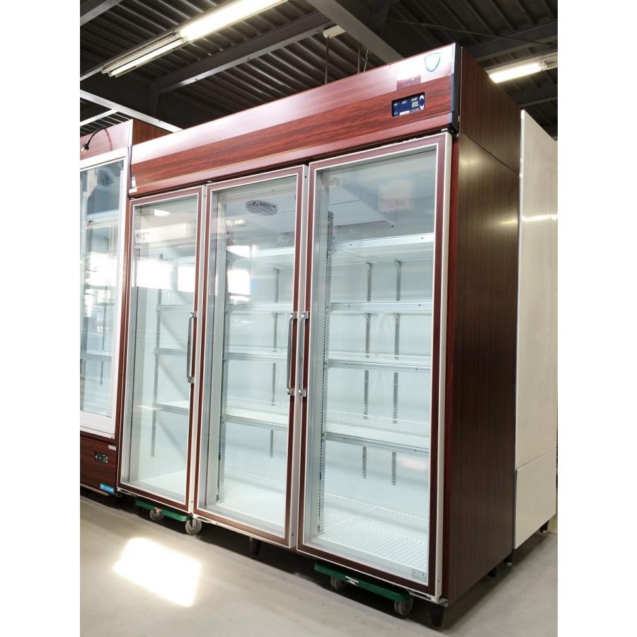 リーチイン冷蔵ショーケース 大和冷機 661YKP-EC 中古【ガラス製品のため自社配送(三重県内)のみ注文承ります】
