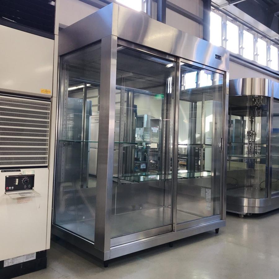 フラワー冷蔵ショーケース 大和冷機 DFA622-L 中古【ガラス製品のため自社配送(三重県内)のみ注文承ります】