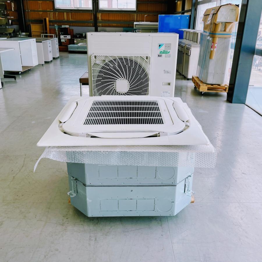 エアコン(天カセ型)6馬力 ※ツイン ダイキン SZRC160BCD 内機 FHCP80EJ 外機 RZRP160BC 中古|e-gekiyasu