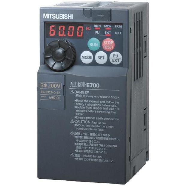 三菱電機 FR-E710W-0.1K 単相100V インバーター mitsubishi 0.1KW