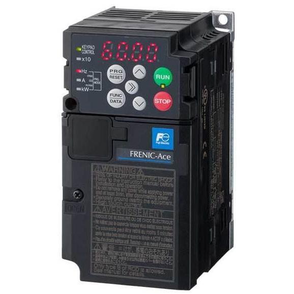 富士電機 FRN0.4E2S-2J 0.4KW 3相200V 標準形インバーター FUJI