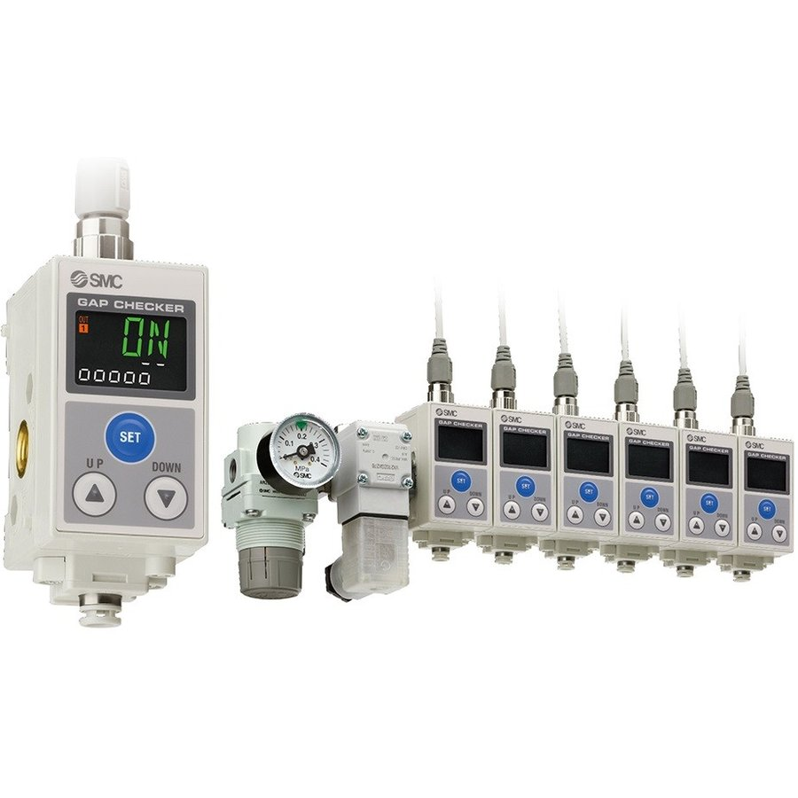 SMC ISA3-HCP-2B-L1 3色表示デジタル着座スイッチ 定格距離範囲:0.05〜0.30mm